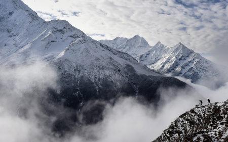尼泊尔雪山风景高端桌面4K+高清壁纸图片