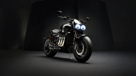 2019款凯旋(Triumph) Rocket III TFC摩托车极品壁纸推荐高清壁纸