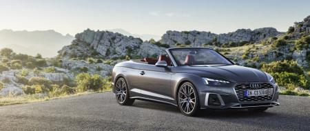 2020款奥迪S5 Cabriolet TFSI敞篷跑车百变桌面精选高清壁纸