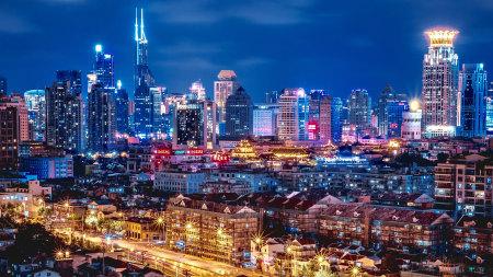 上海夜景高端桌面4K+高清壁纸图片