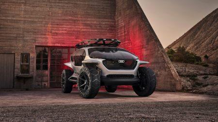 奥迪AI:Trail Quattro概念车极品壁纸推荐高清壁纸