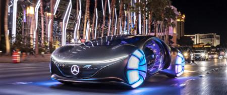 2020款梅赛德斯-奔驰Vision Avtr电动概念车极品游戏桌面精选4K+高清壁纸