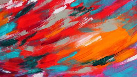 彩色颜料背景高端桌面4K+高清壁纸图片