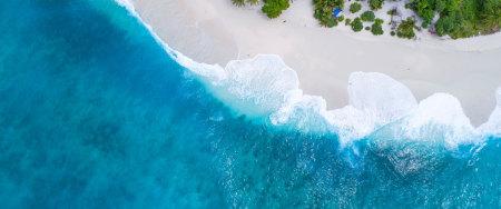 马尔代夫群岛海滩高端桌面4K+高清壁纸图片