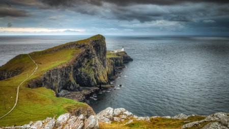 英国苏格兰天空岛风景高端桌面4K+高清壁纸图片