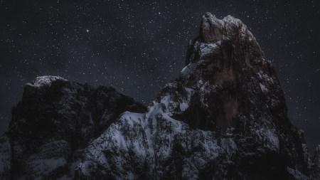 星空下的落基山高端桌面4K+高清壁纸图片