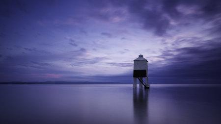 英格兰海上灯塔高端桌面4K+高清壁纸图片