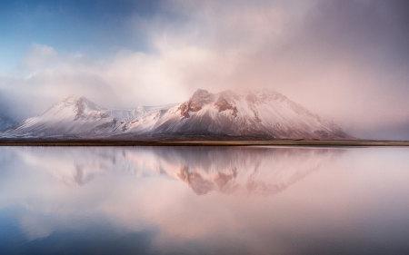 美丽的冰岛雪山高端桌面4K+高清壁纸图片