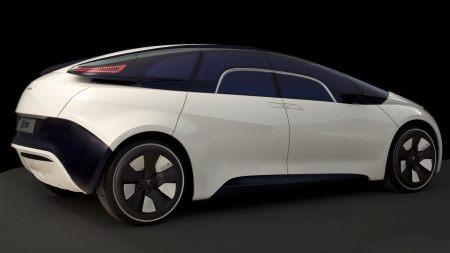 特斯拉EYE概念跑车高端桌面4K+高清壁纸图片