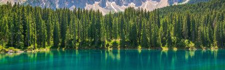 意大利多洛米蒂山湖泊风景高端桌面4K+高清壁纸图片