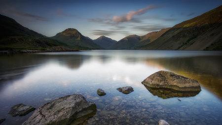 英格兰沃斯特湖风景高端桌面4K+高清壁纸图片