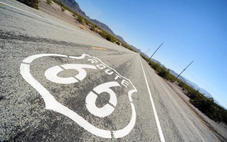 美国线路66道路风景高端桌面4K+高清壁纸图片