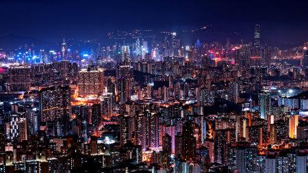 香港夜景高端桌面4K+高清壁纸图片