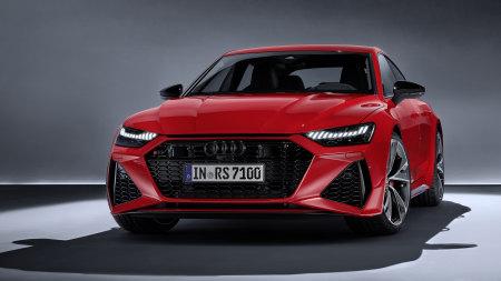 2020款红色奥迪RS 7 Sportback百变桌面精选高清壁纸