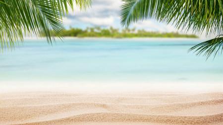 夏日的海滩风景极品游戏桌面精选4K+高清壁纸