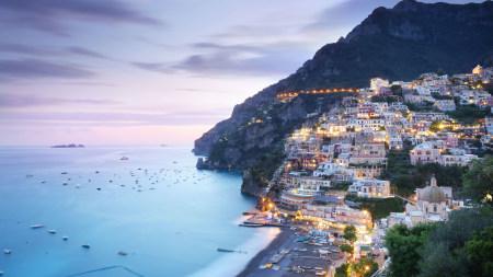意大利波西塔诺小镇高端桌面4K+高清壁纸图片
