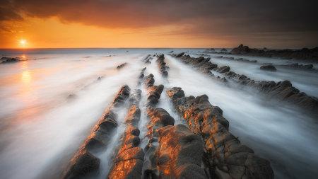 海边日落风景高端桌面4K+高清壁纸图片