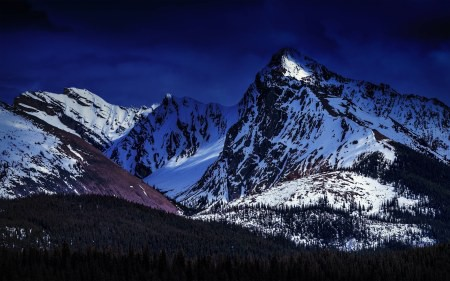 加拿大贾斯珀国家公园雪山风景高端桌面4K+高清壁纸图片
