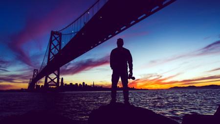 旧金山-奥克兰海湾大桥高端桌面4K+高清壁纸图片