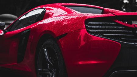 红色迈凯伦MP4-12C极品壁纸推荐高清壁纸