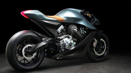 2019款阿斯顿·马丁AMB 001摩托车极品游戏桌面精选4K+高清壁纸