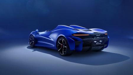 蓝色迈凯轮Elva敞篷跑车百变桌面精选高清壁纸