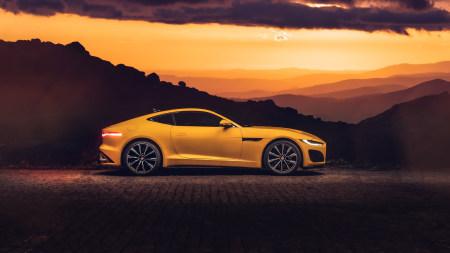 2020款捷豹F-Type R Coupe高端桌面4K+高清壁纸图片
