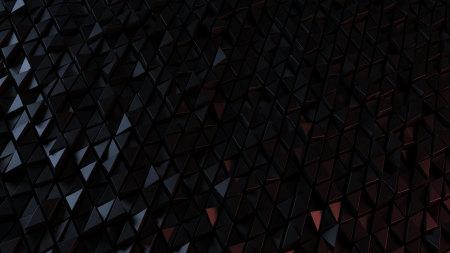 黑色3D三角形背景高端桌面4K+高清壁纸图片