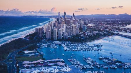 澳大利亚昆士兰州黄金海岸城市风景高端桌面4K+高清壁纸图片