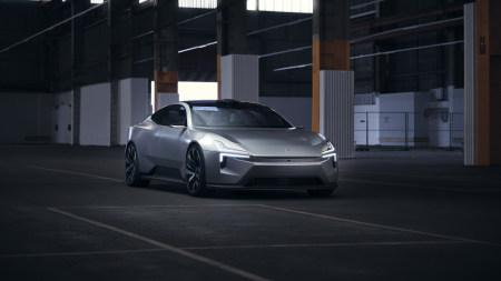 2020款极星Precept概念车极品游戏桌面精选4K+高清壁纸
