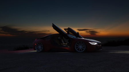 夜色中的超级跑车百变桌面精选高清壁纸