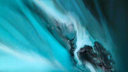 青色抽象渐变背景高端桌面4K+高清壁纸图片