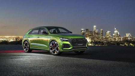 2020款绿色奥迪RS Q8百变桌面精选高清壁纸