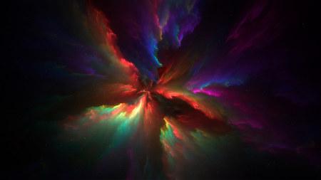彩色星云高端桌面4K+高清壁纸图片