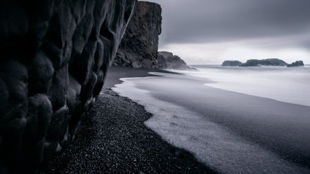 海浪 岩石百变桌面精选高清壁纸