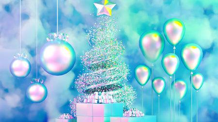 圣诞树装饰极品游戏桌面精选4K+高清壁纸