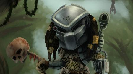 铁血战士插画极品游戏桌面精选4K+高清壁纸