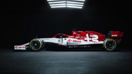 阿尔法·罗密欧F1车队C39赛车极品游戏桌面精选4K+高清壁纸