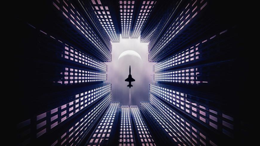 空中喷气式战斗机高端桌面4K+高清壁纸图片