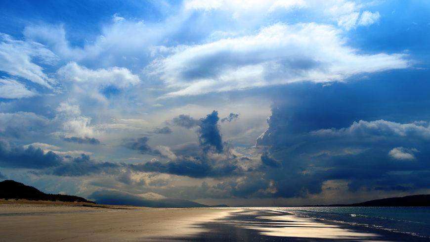 大海天空海滩风景高端桌面4K+高清壁纸图片