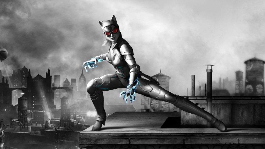 蝙蝠侠:阿甘之城高端桌面4K+高清壁纸图片