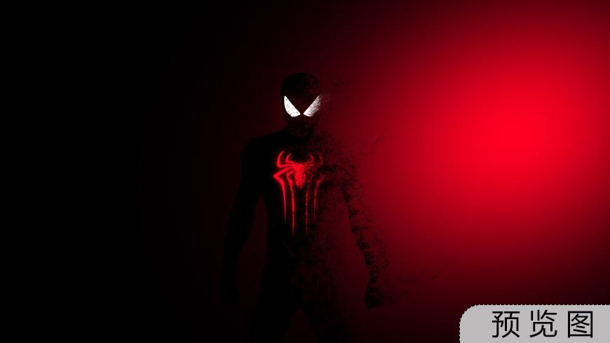 蜘蛛侠插画极品游戏桌面精选4K+高清壁纸