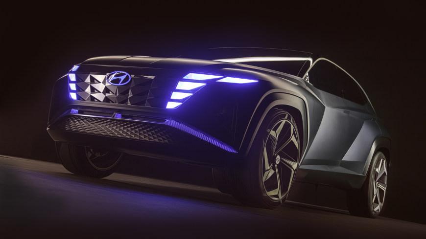 2019款现代Vision T概念车高端桌面4K+高清壁纸图片