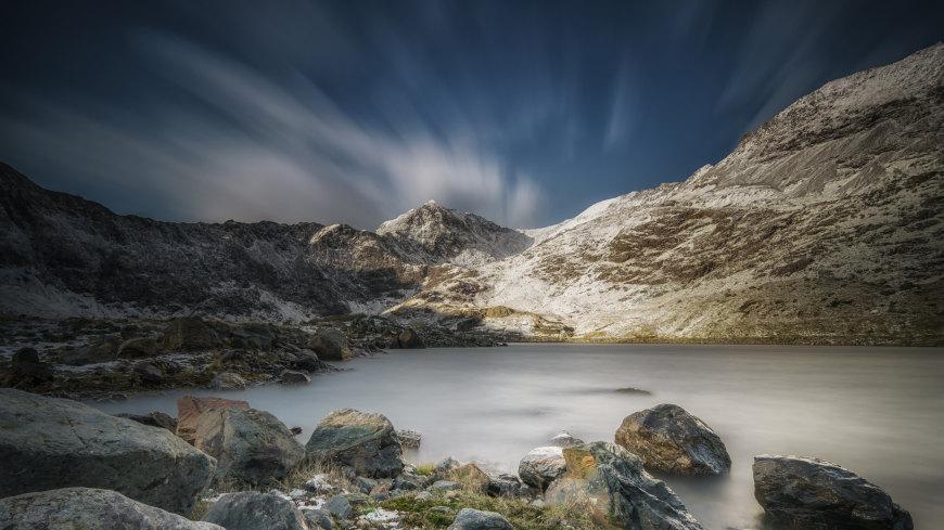 史诺顿山湖风景高端桌面4K+高清壁纸图片