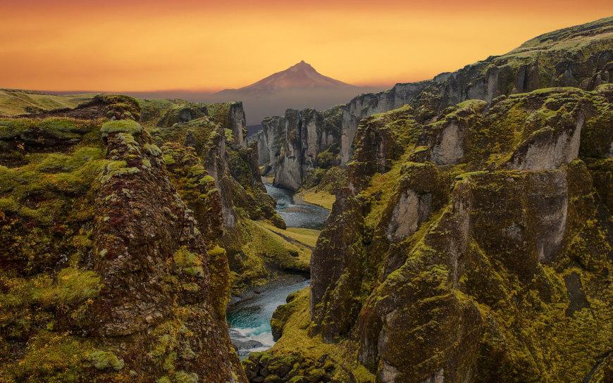 美丽的山川日落风景高端桌面4K+高清壁纸图片